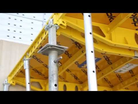Doka's hand-set formwork system - saving money by being Safe, Fast and Efficent [construction]