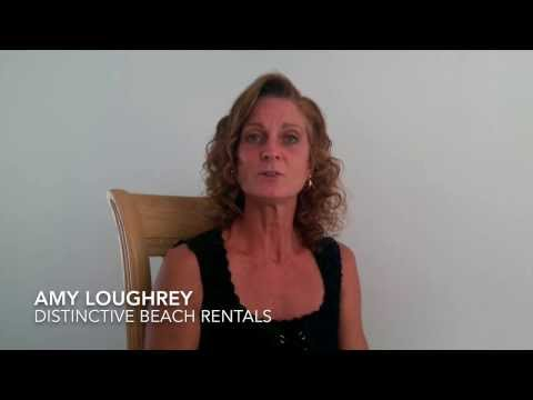 Barefoot Client Series: Amy @ Distinctive Beach Rentals Inc