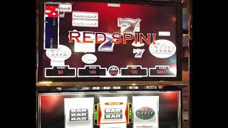 """VGT  Slots """"Platinum Reels""""  Lot of up and down playing.  Red Screens Red Spins.  Choctaw Casino"""