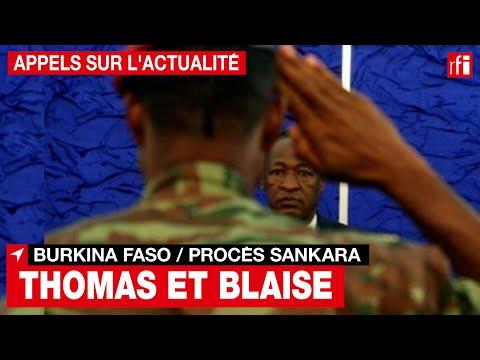 Burkina Faso - Procès Sankara : retour sur la relation entre Compaoré et Sankara• RFI