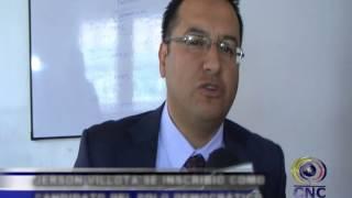 Inscripción de Jerson Villota  candidato a la alcaldía de Ipiales por el Polo democrático