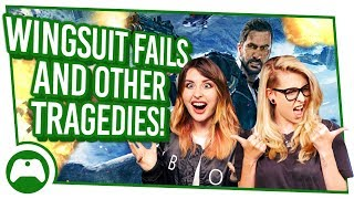 Wingsuit Fails And Other Tragedies! Xbox On FUNNY MOMENTS