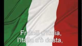 Inno nazionale - Inno di Mameli - Fratelli d'Italia con testo (with lyrics)