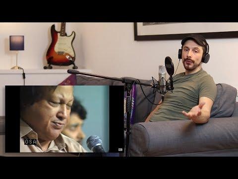 Vocal Coach Reaction - Nusrat Fateh Ali Khan 'Ye Jo Halka Halka Saroor Hai'