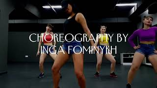 New Reggaeton Choreo by Inga Fominykh on song Alto Contenido - Maldy feat. Randy&Luigi