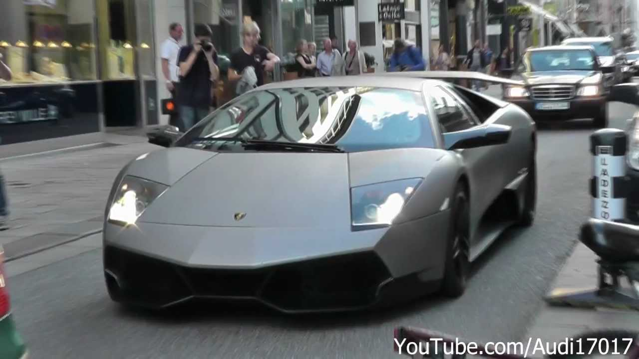 Lamborghini Murcielago Lp670 4 Sv W Tubi Exhaust Start Up Acceleration S Details Full Hd