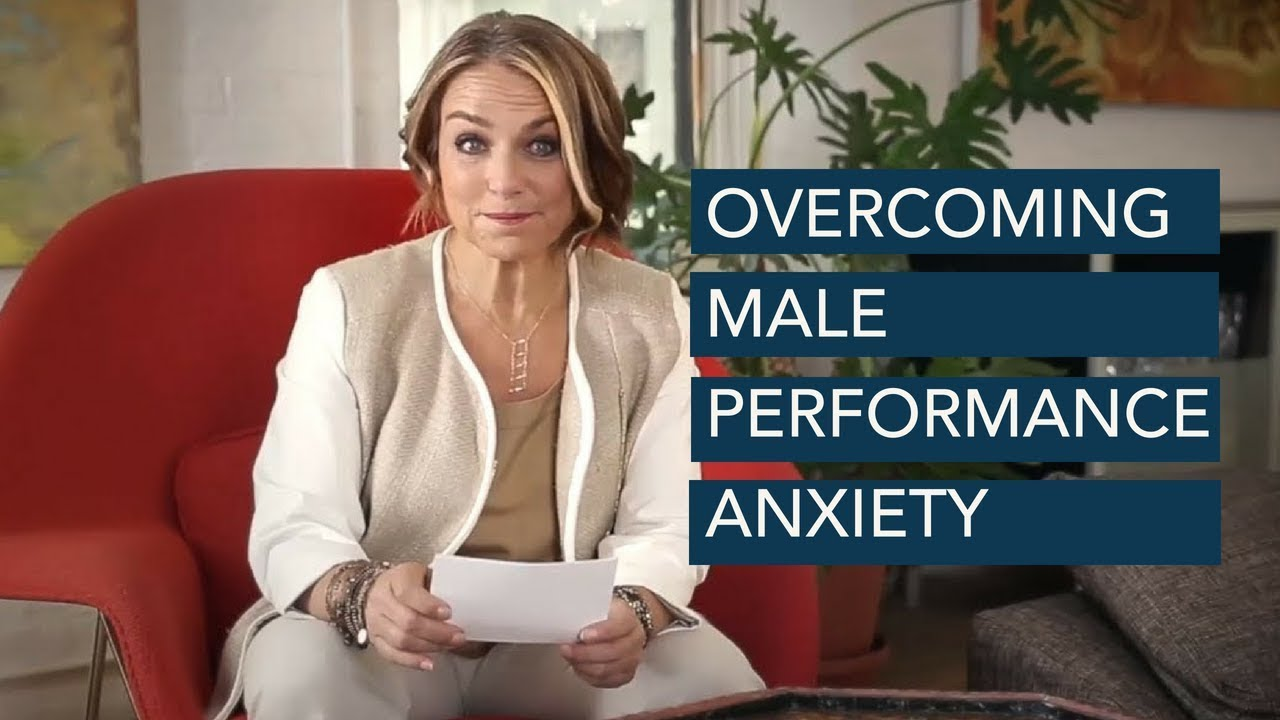 Guys overcome nervousness before sex