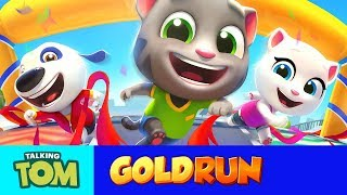 Talking Tom Gold Run Play in Mobile