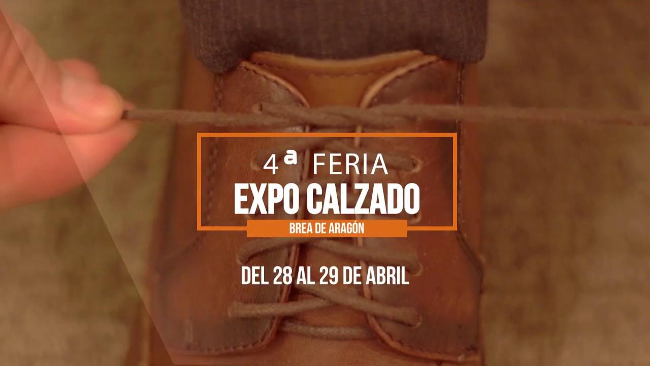 IV Feria Expo Calzado de BREA DE ARAGÓN - YouTube b51ed845b54e