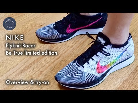 cheap for discount 06559 7a7a6 Nike Be True Flyknit Racer  Overview   try-on