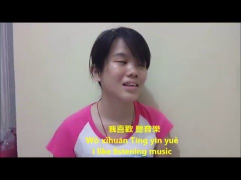 Interviewing Foreign Student from Chinese with Mandarin Languange