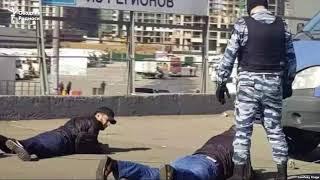 ФСБ ва полиция Москвадаги муҳожирлар орасида