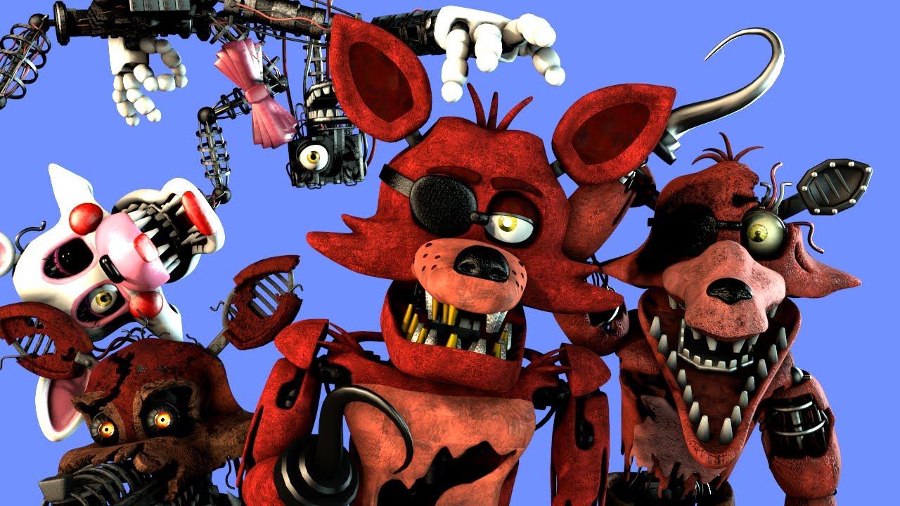 [SFM FNaF] Every Foxy In A Nutshell