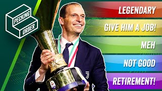 TIER LIST: Ranking Available Football Managers! ► THE PECKING ORDER
