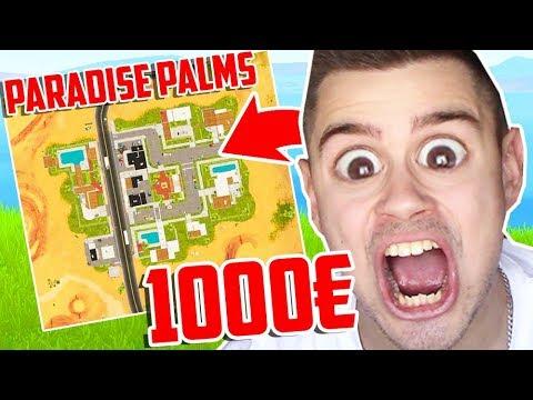 WER zuletzt PARADISE PALMS verlässt bekommt 1000€ in Fortnite ..