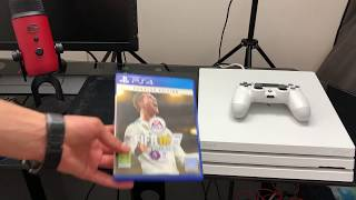 PS4 PRO HEAT/POWER NOISE TEST COMPARISON VS PS4 500GB