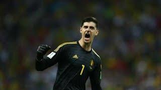 Courtois vs Brazil ( FIFA World Cup 2018 )