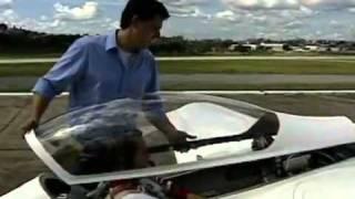 Avião leve fabricado em Minas Gerais bate recordes de velocidade