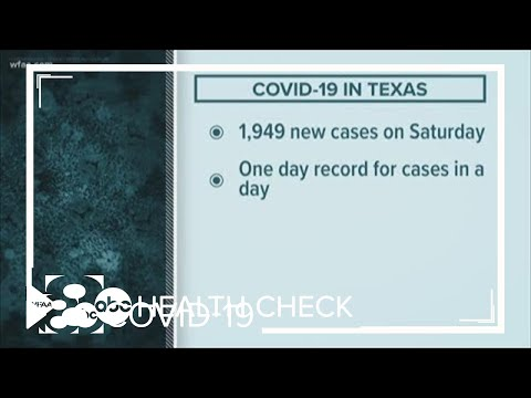 Health Check: Texas sets record for new COVID-19 cases