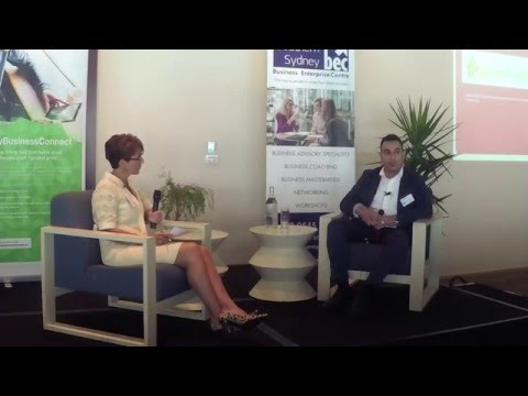 Sam Bashiry - Highlights from interview at BEC South Sydney Entrepreneur Breakfast