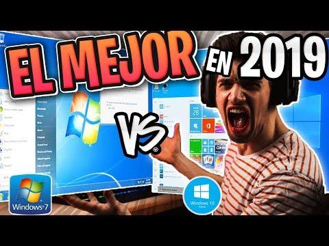 ⚠️Windows 7 Vs Windows 10 En El 2019 / El Mejor Mas Rápido Y Estable ? 😱