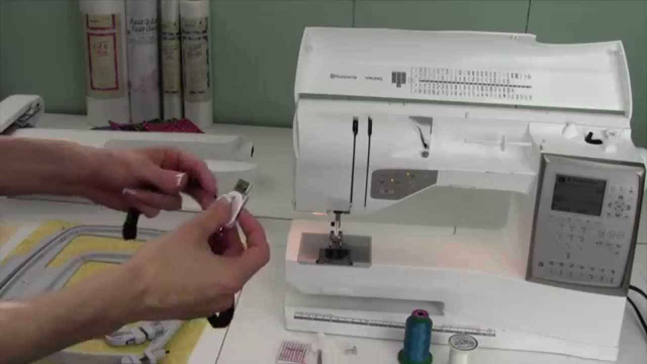 Husqvarna Viking Topaz 20 57 Getting Started With Embroidery Youtube