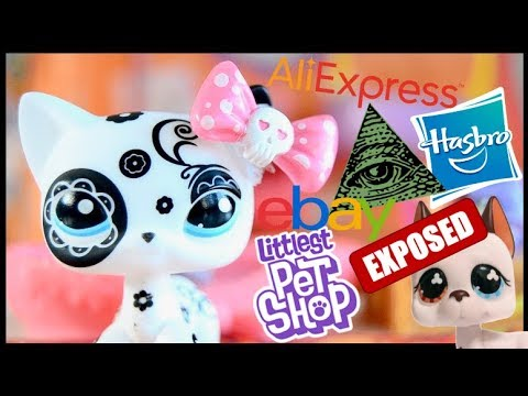 LPS Conspiracy Theories: HASBRO IS BEHIND THE FAKE LPS! + MORE
