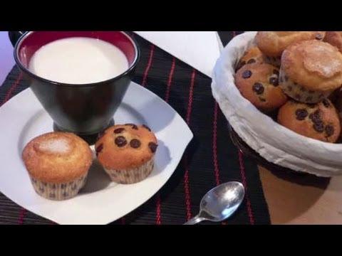 Receta de magdalenas o muffins caseras paso a paso youtube - Madalenas o magdalenas ...