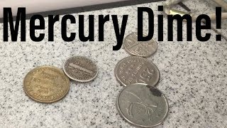Somebody Thought This 75 Year Old Silver Mercury Dime Was A Foreign Coin!