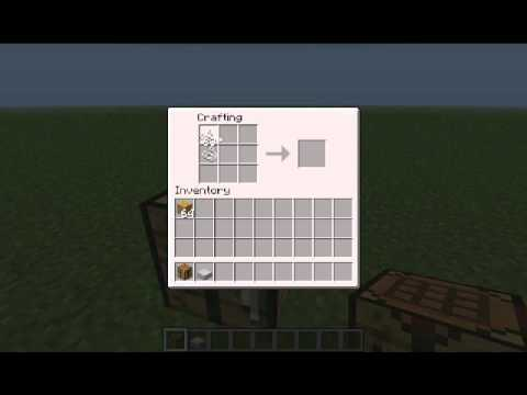 MineCraft - Come creare un letto con le ragnatele - YouTube