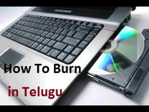 how to write data on cd or dvd with Nero Sofware in Telugu