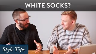 Can I Wear White Socks with ... ?
