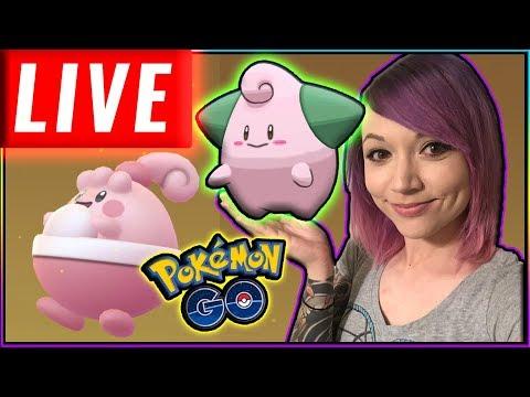 LIVE: SHINY RAIDS HUNT Pokémon GO Stream thumbnail