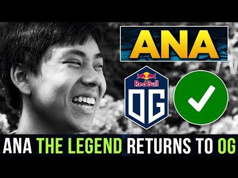 The Legend Returns! TI8 Winner and MVP of 2018 Ana is Back to OG Again! Dota 2 - Road to #TI9 thumbnail
