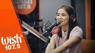"""Juris performs """"Here's My Heart"""" LIVE on Wish 107.5 Bus"""