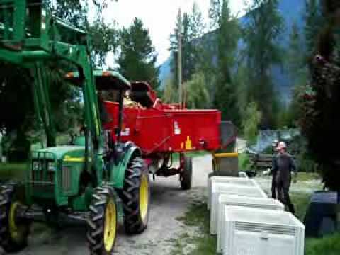 Potato Harvest In Pemberton Canada - Bike Touring In Canada