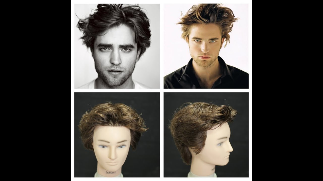 Robert Pattinson Haircut Tutorial Youtube