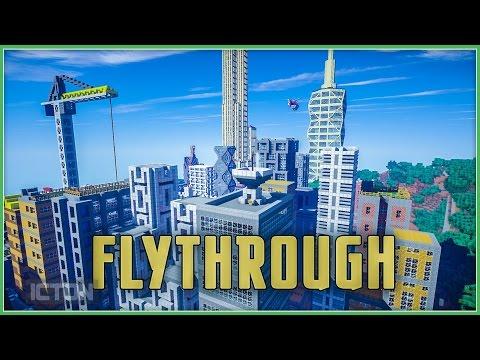 ICTON Adventures in Minecraft | Fly Through
