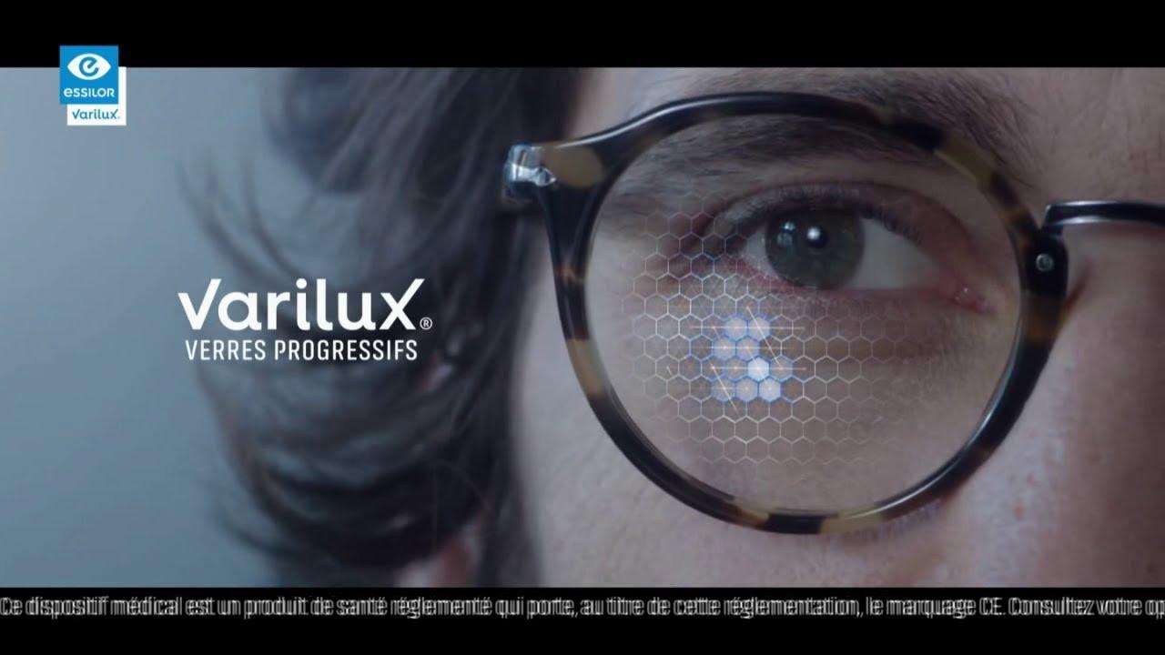 """Musique de la pub Varilux Essilor verres progressifs """"prenez rendez-vous avec votre opticien engagé""""  2021"""