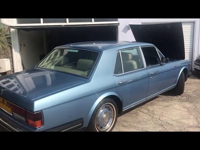 A 1986 Rolls-Royce Silver Spirit