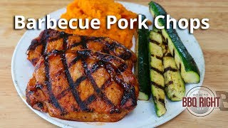 Barbecue Pork Chops on the Grill