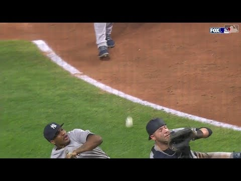 MLB Playback - 2018 Interesting Play Compilation Part 2