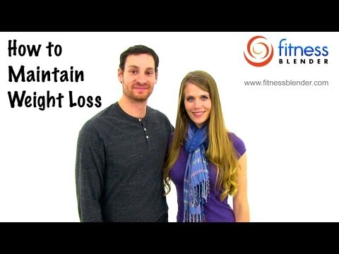 Once I reach my goal weight, do I have to keep working out - How to maintain weight loss