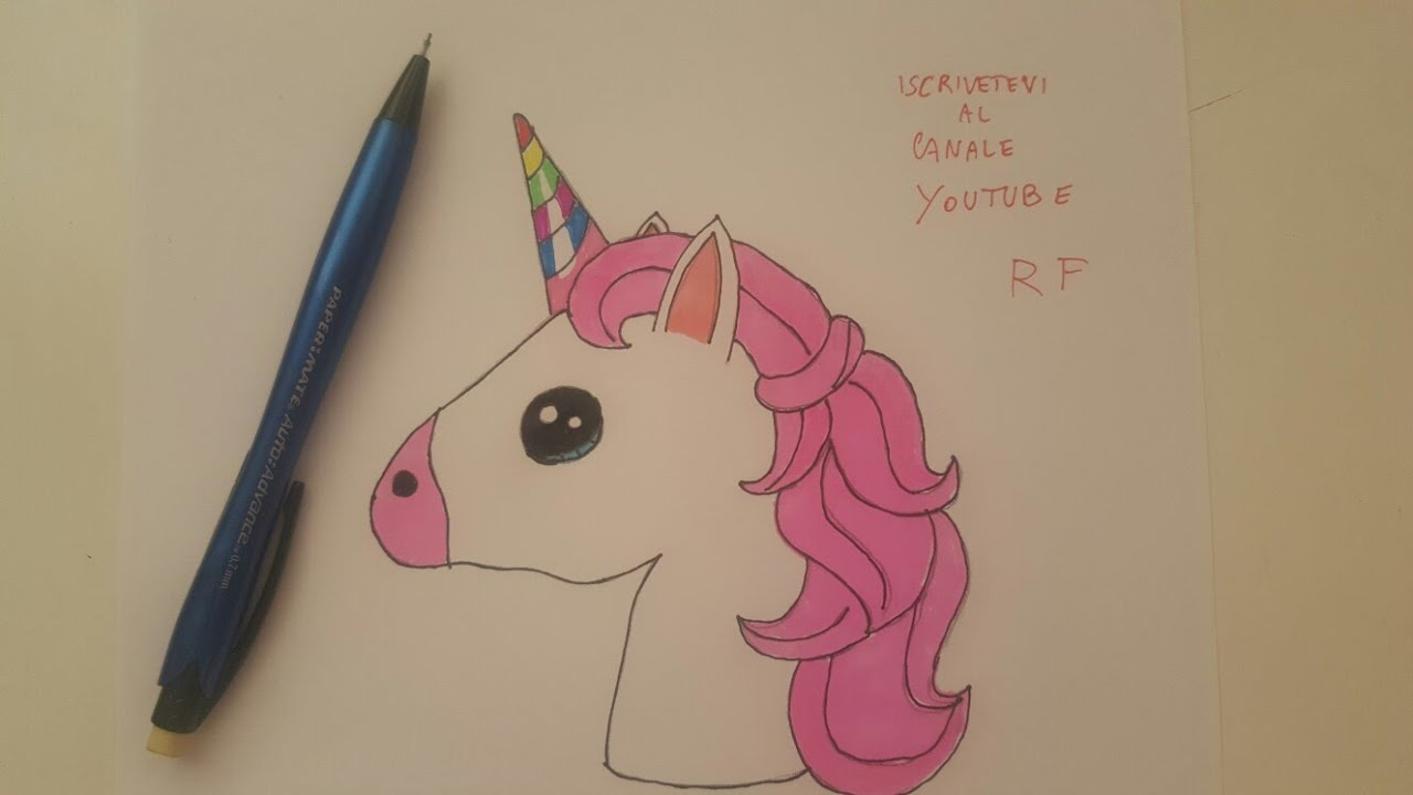 Come Disegnare Un Unicorno Kawaii Youtube
