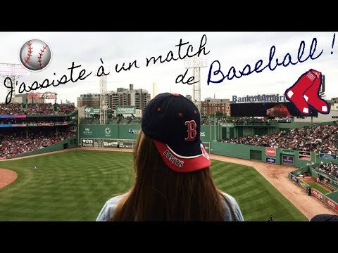 MON PREMIER MATCH DE BASEBALL ! (REDSOX VS YANKEES)