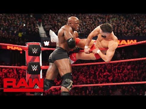 Finn Bálor & Braun Strowman vs. Bobby Lashley & Lio Rush: Raw, March 18, 2019