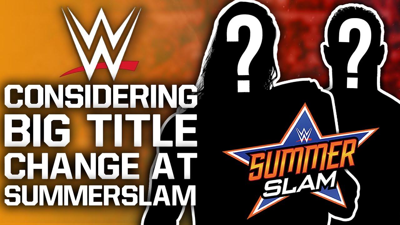 WWE Considering Big SummerSlam Title Change | Logan Paul Wants Wrestling Match