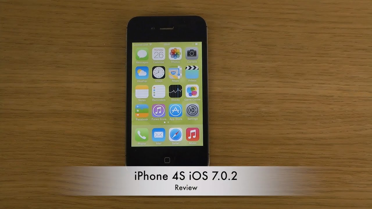 iPhone 4S iOS 7.0.2 - ...