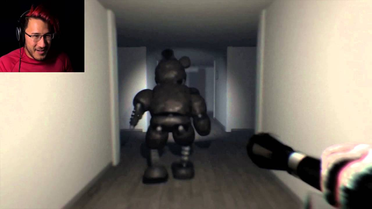 'The Joy Of Creation Reborn' Jumpscare/Panic Montage /w Markiplier And Yamimash Part 1