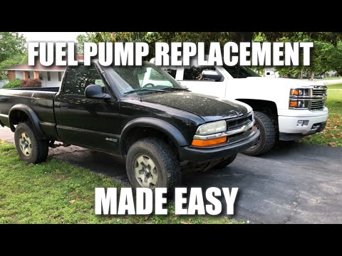 How to Replace Fuel Pump 1998 – 2003 Chevy S10 GMC Sonoma (Easiest Method)